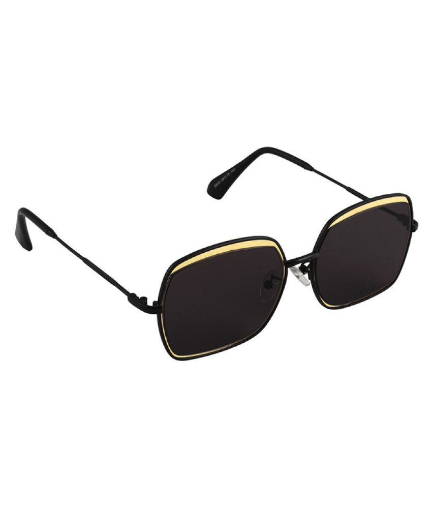 6by6 Black Wayfarer Sunglasses ( 6B6SG1690 )