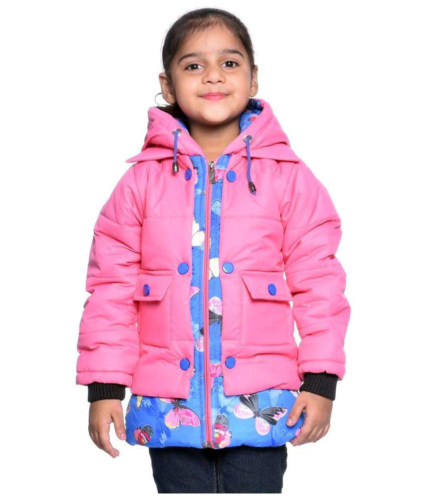 Come In Kids Multicolour  Solid Jacket