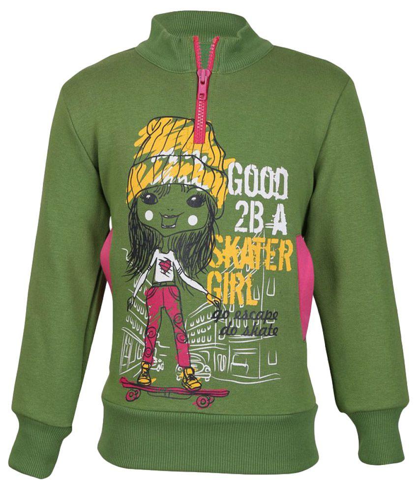 Cool Quotient Green Sweatshirt
