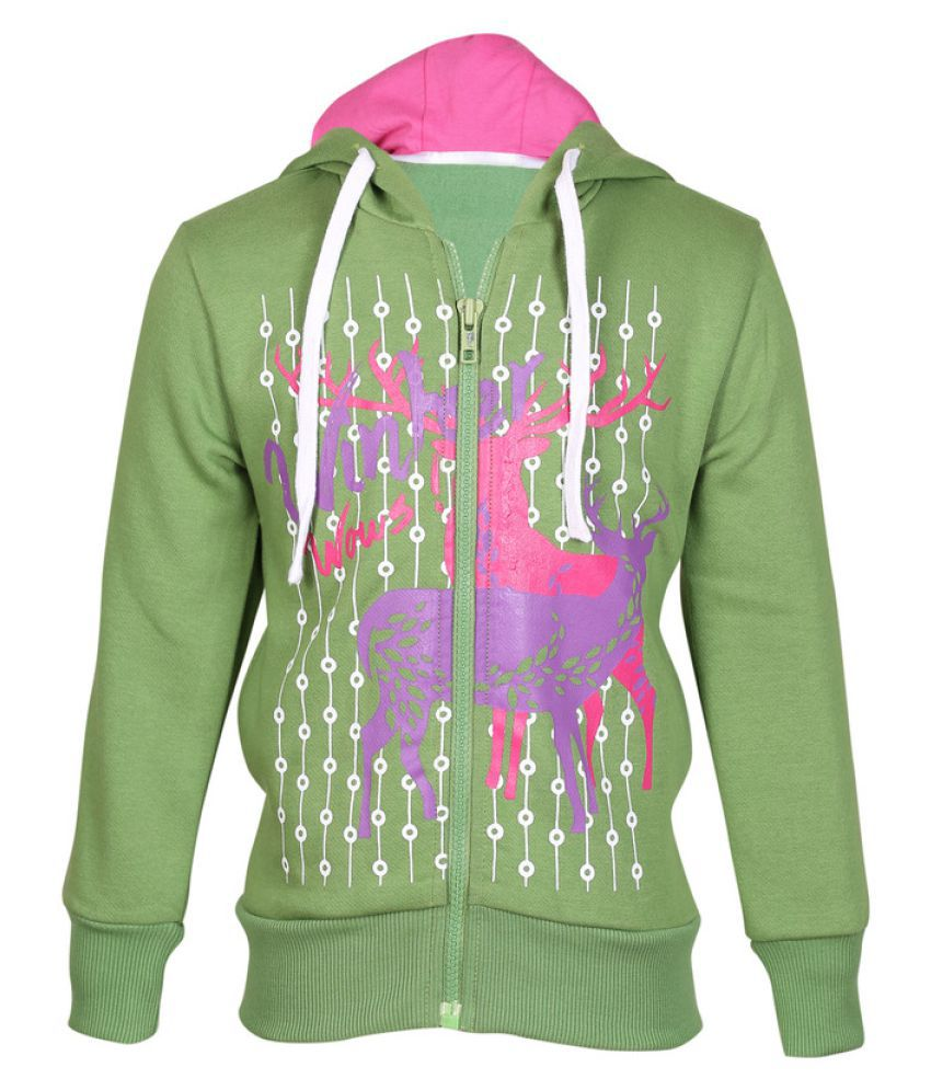 Cool Quotient Green Sweatshirts