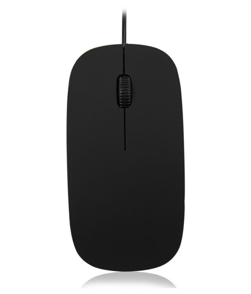 Iconnect World Ultra Slim Optical 3d Wired Usb Mouse For Pc Desktop Laptop