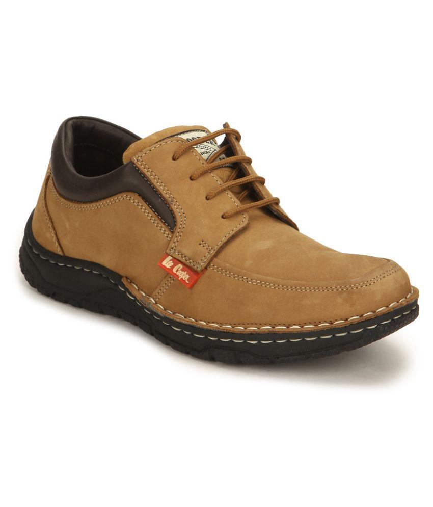 Lee Cooper Sneakers Tan Casual Shoes - Buy Lee Cooper ...
