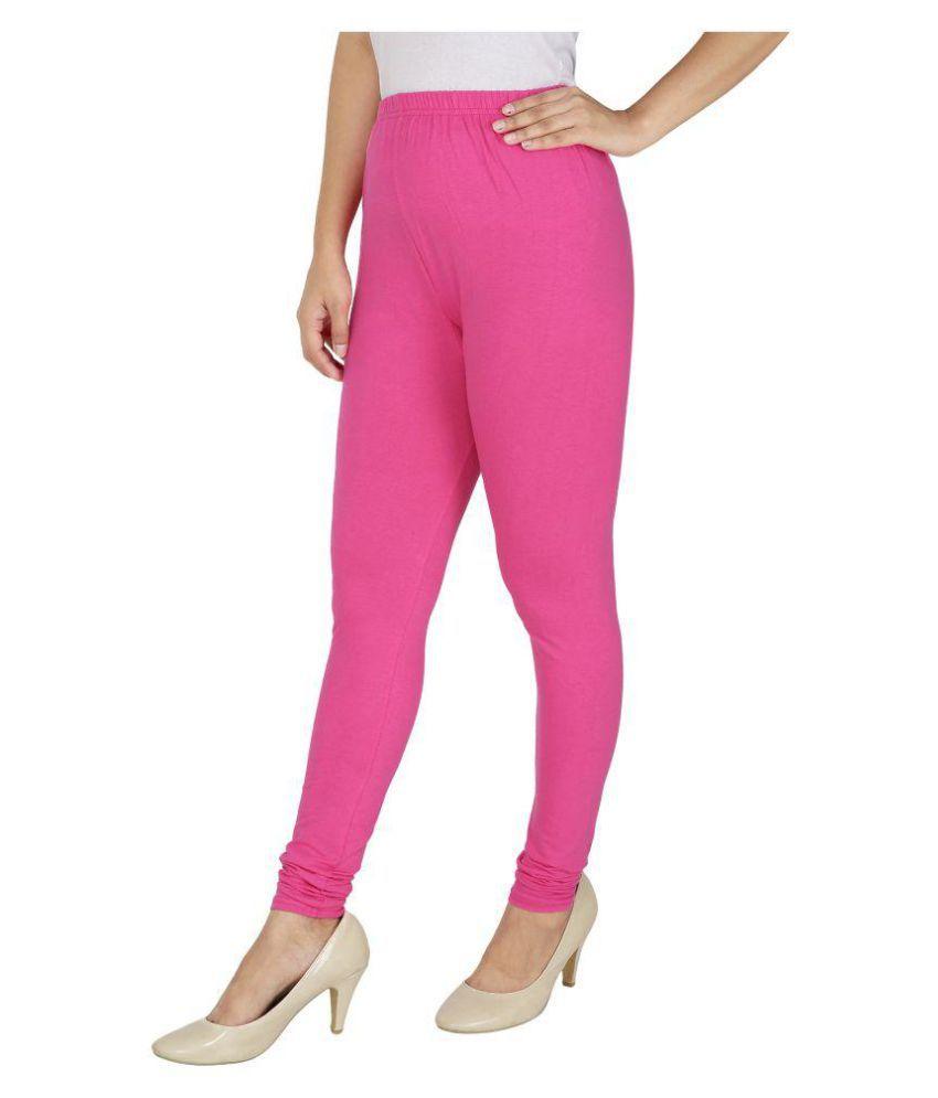 9ff05e1ead8c2d Lux Lyra legging Cotton Lycra Pack of 2 Leggings Price in India ...