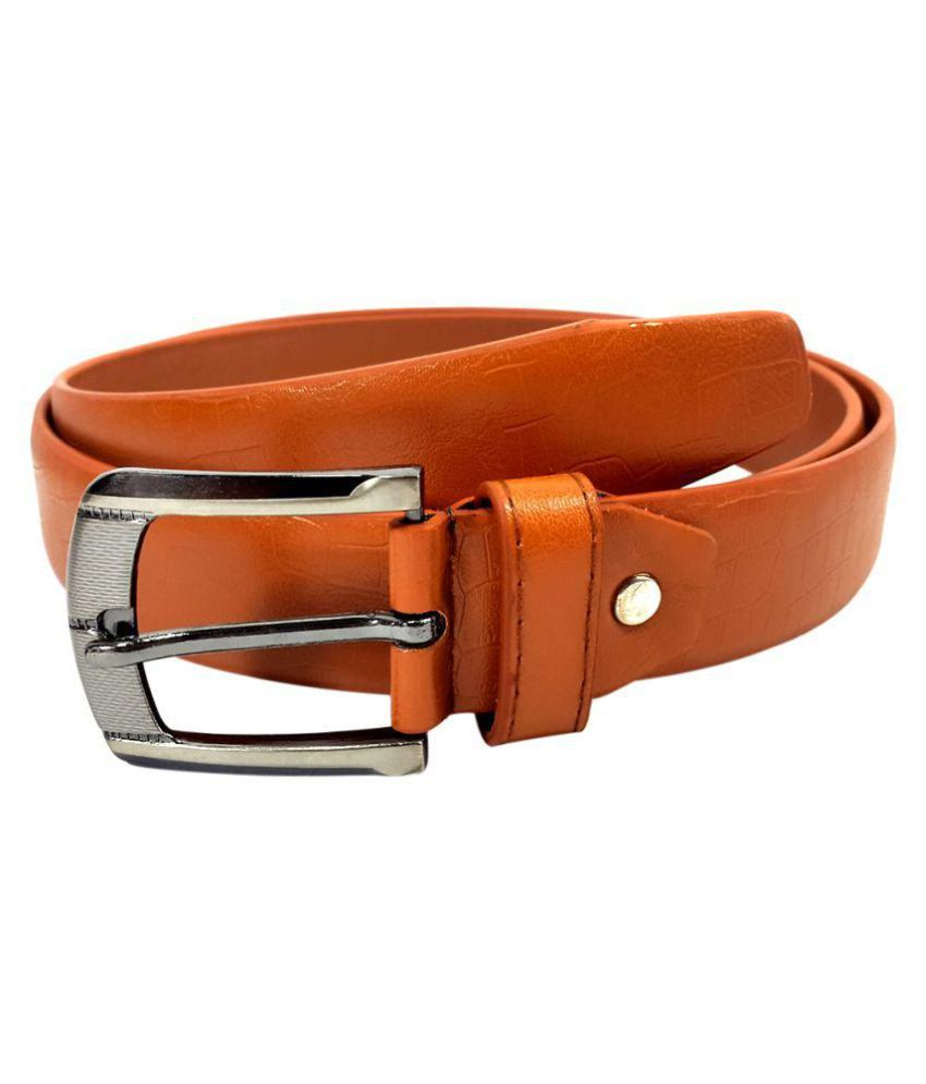 Oglivay Tan PU Party Belts