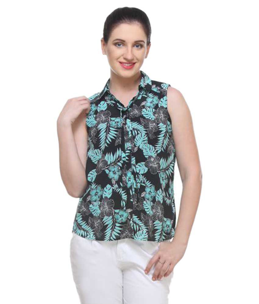 Raghuveer Fashion Poly Georgette Shirt