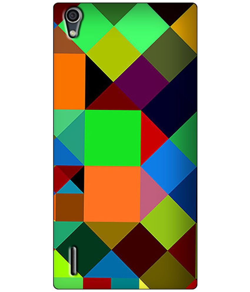 Huawei Ascend P7 Printed Cover By LOL