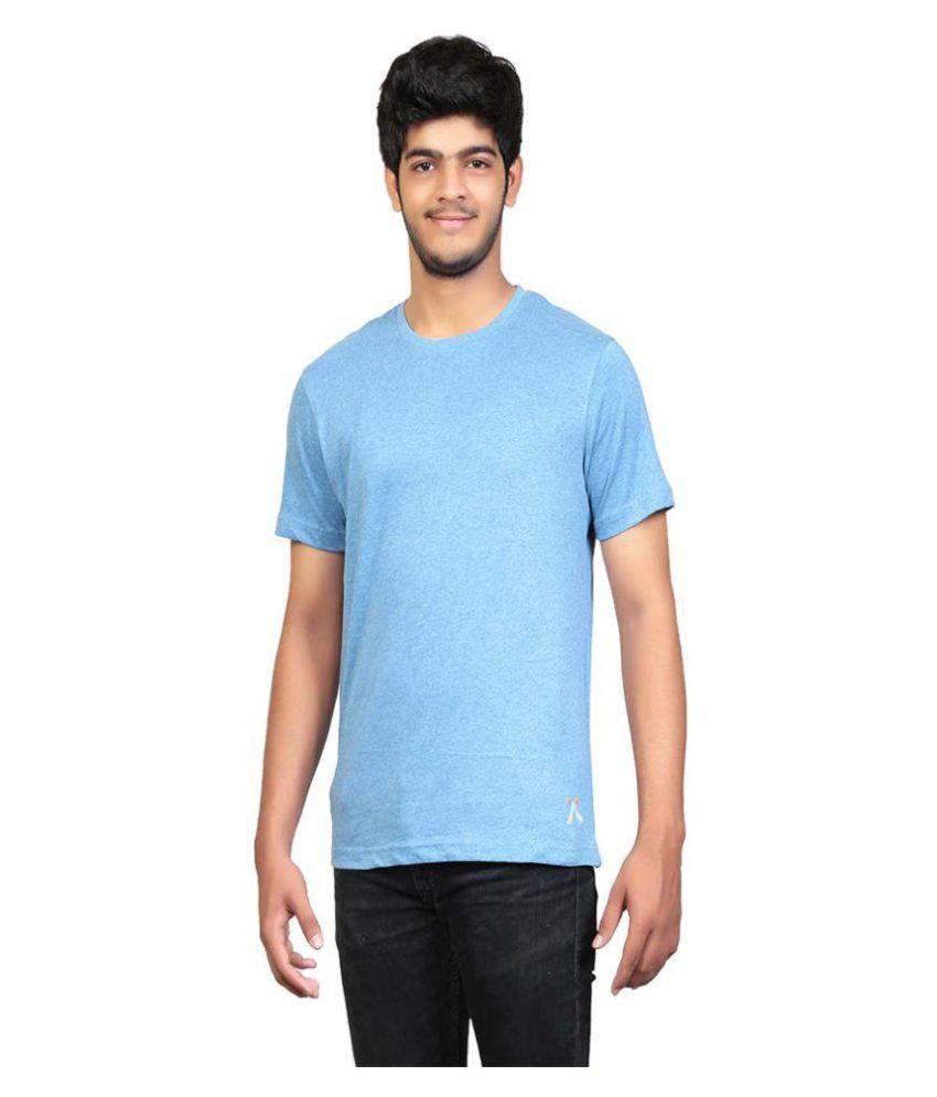 Ashfly Blue Round T-Shirt