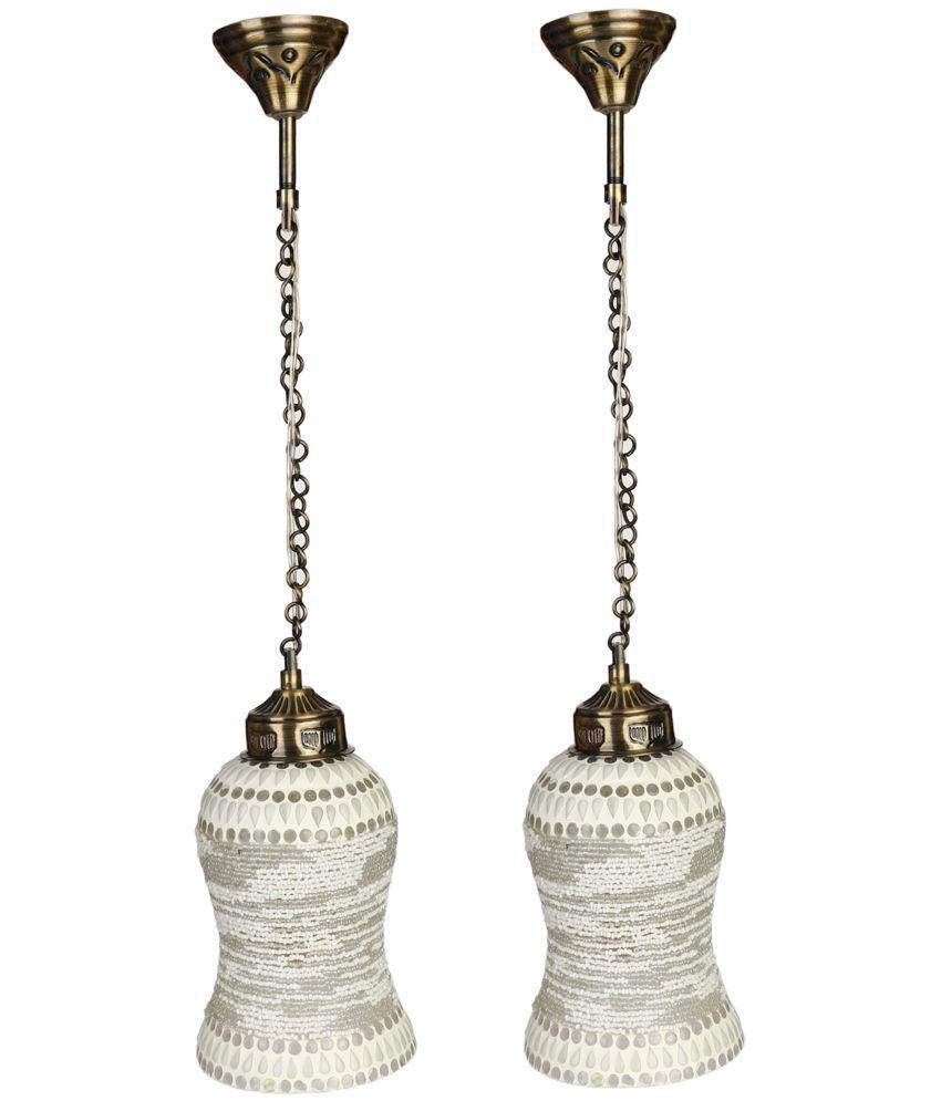Somil Decorative Pendant Light Pendant White