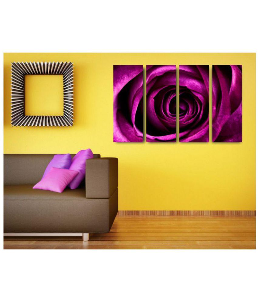 Esfore Contemporary & Stylish Printed Artwork/Painting - Rose