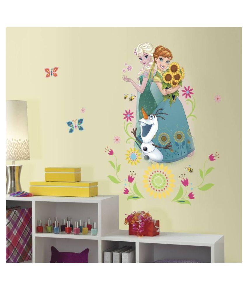 asian paints disney frozen fever group giant vinyl wall stickers