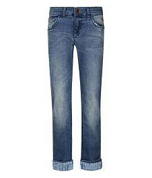 UFO Blue Slim Fit Jeans