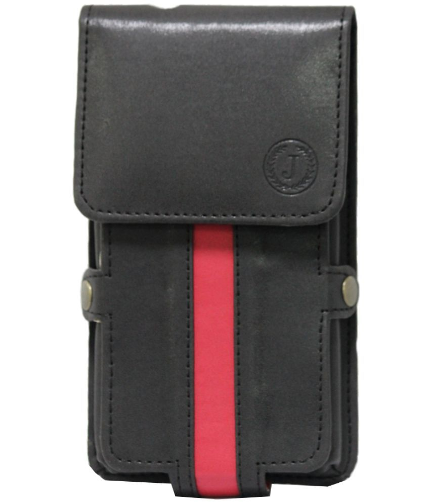 Panasonic P66 Mega Holster Cover by Jojo - Black