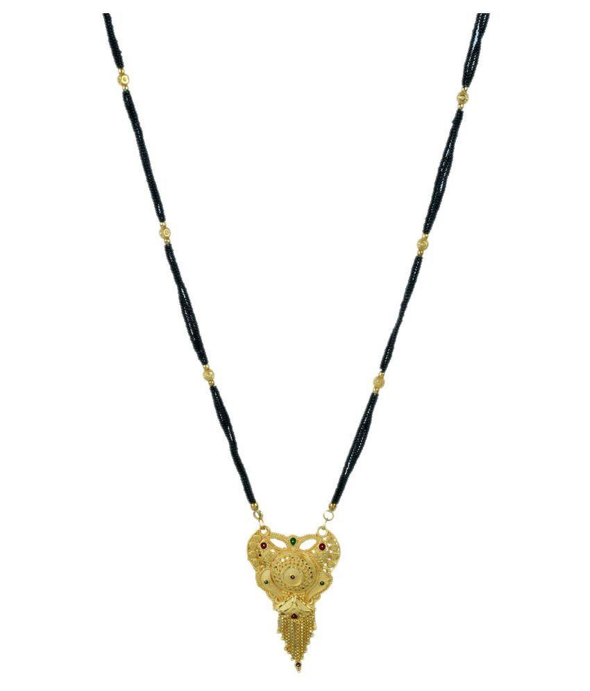 Memoir Gold Plated Brass Mangalsutra