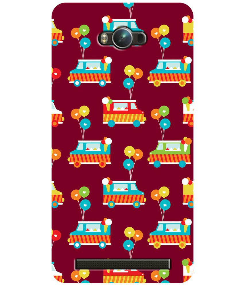 Asus Zenfone Max Printed Cover By LOL