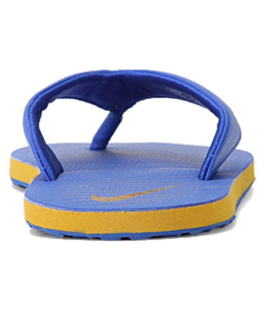 ae1583ef20f5 Nike Blue Thong Flip Flop Art n833808403 Price in India- Buy Nike ...