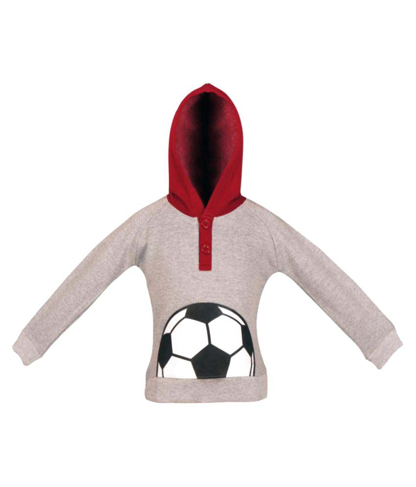 Gkidz Boys Full Sleeve Hooded Sweatshirt