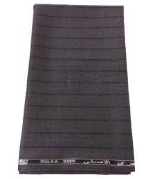 Ramkumar Textile Brown Poly Blend Unstitched Pant Pc