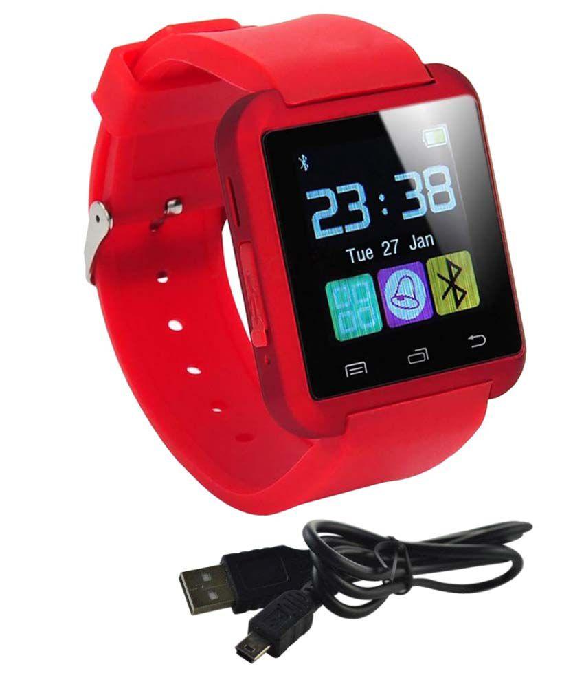 Estar Red Smart Watches titanium s6