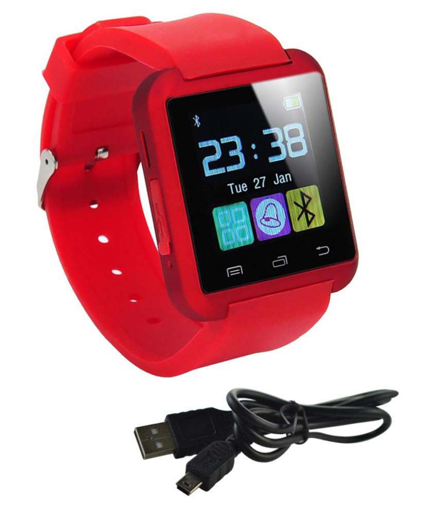 Estar mx3 Smart Watches Red