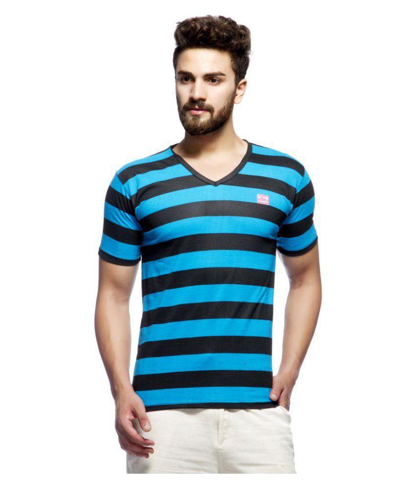 Demokrazy Multi V-Neck T-Shirt