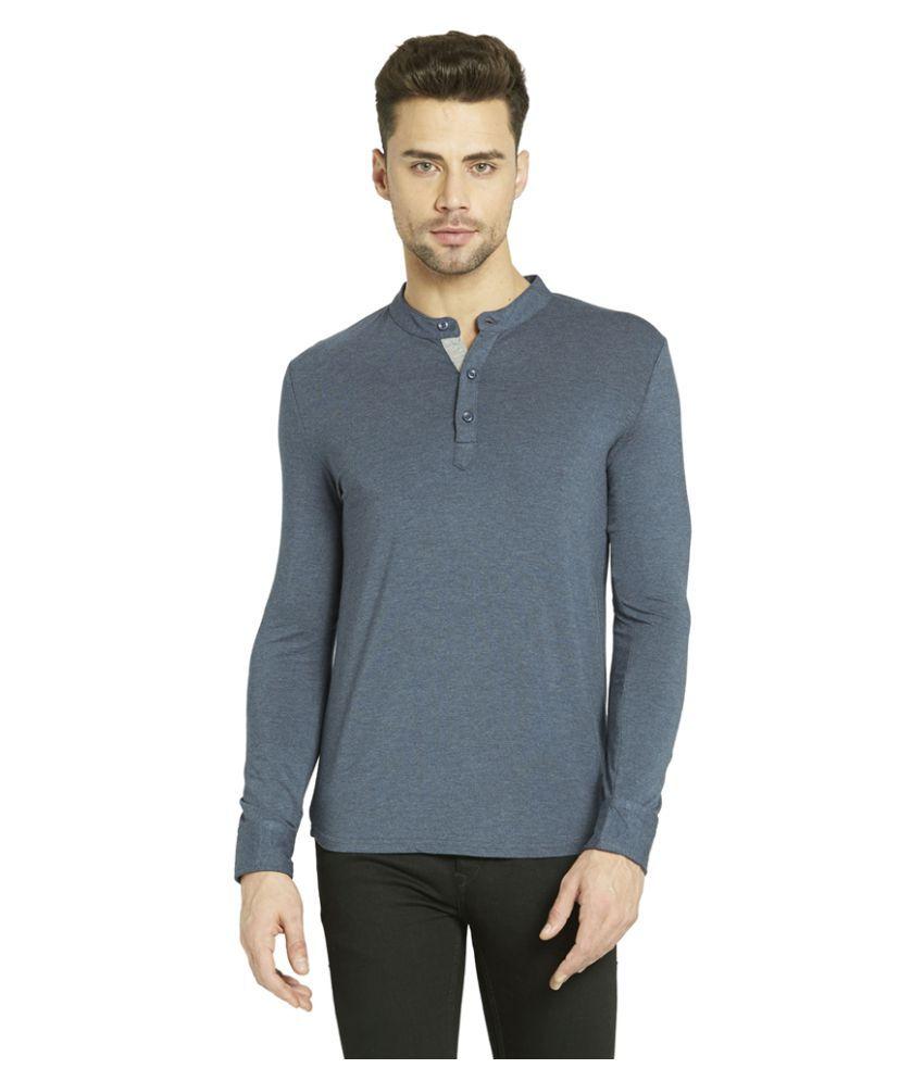 Globus Grey Henley T-Shirt