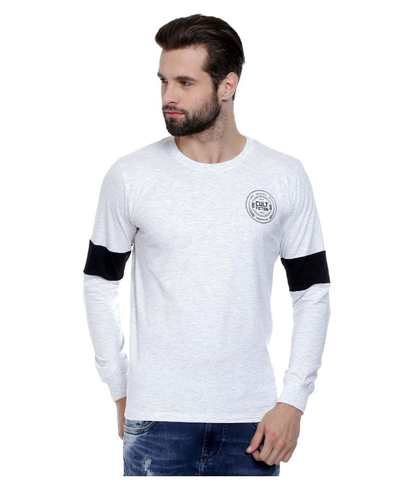 Cult Fiction white Round T-Shirt