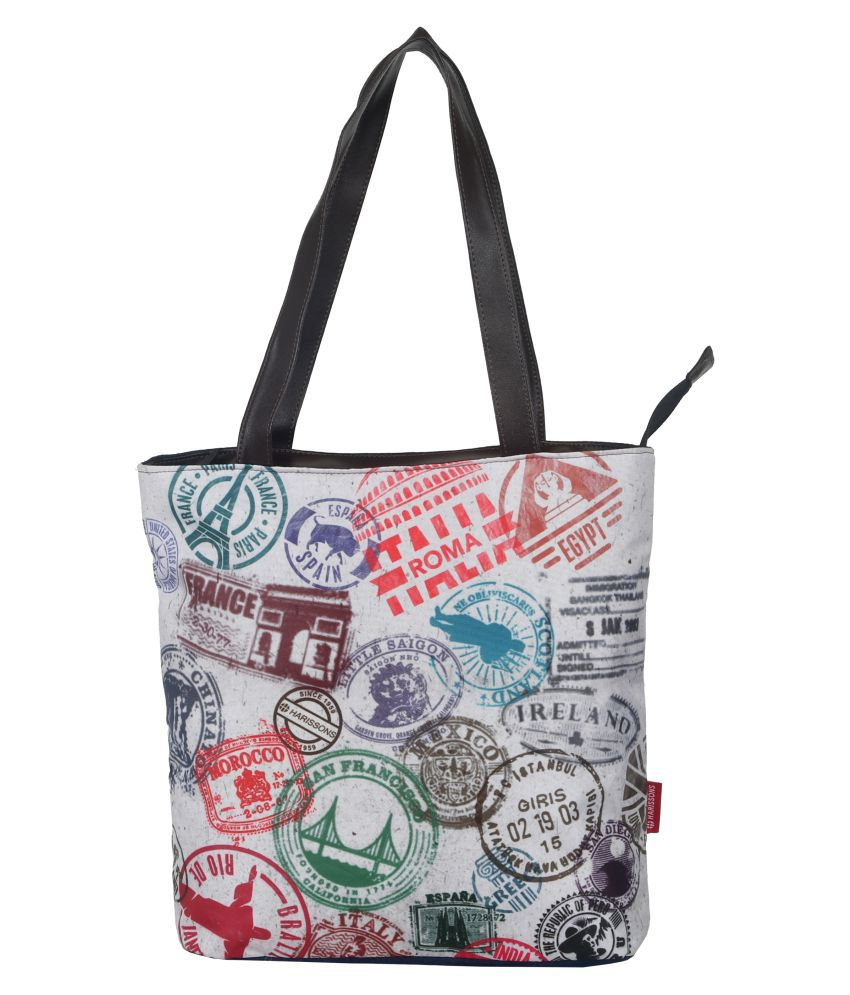 Harissons Multi Polyster Tote Bag
