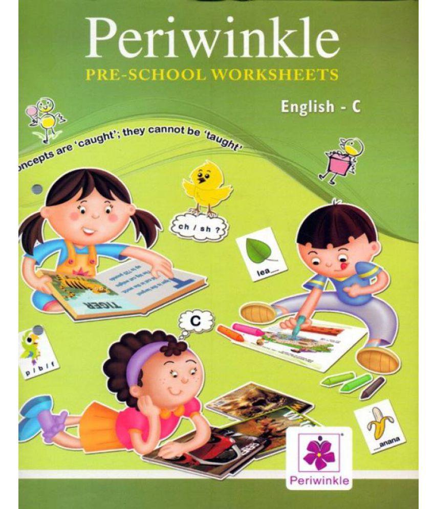 Periwinkle Pre - School Worksheets English - C: Buy Periwinkle Pre ...