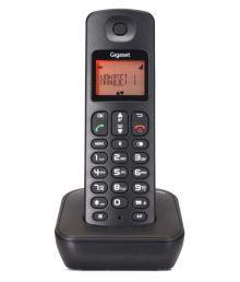 Gigaset A100 Cordless Landline Phone ( Black )