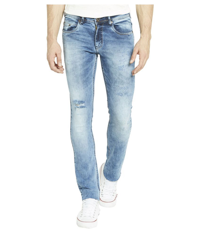 Globus Blue Skinny Distressed