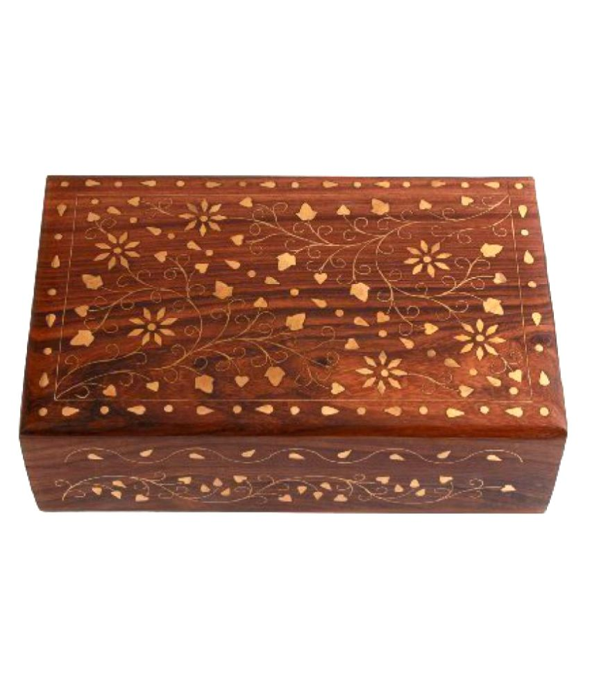 Vishal India Mart Handmade Wooden Jwellery Box , Best Designed Wooden Box For Jewellery