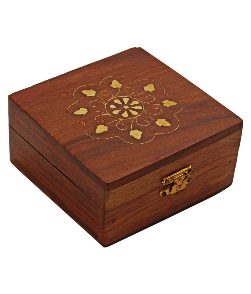 Vishal India Mart Handmade Wooden Jewellery Box , Best Designed Wooden Box For Jewellery\n