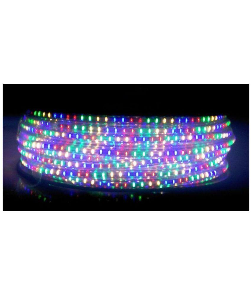 official photos 3beb5 1cb58 JBMR LED Strip Multi Color Waterproof Roll 20 meter + 1 pc Adapter
