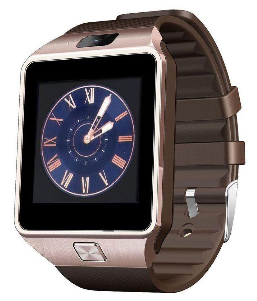 AKIRA titanium desire Smart Watches Gold