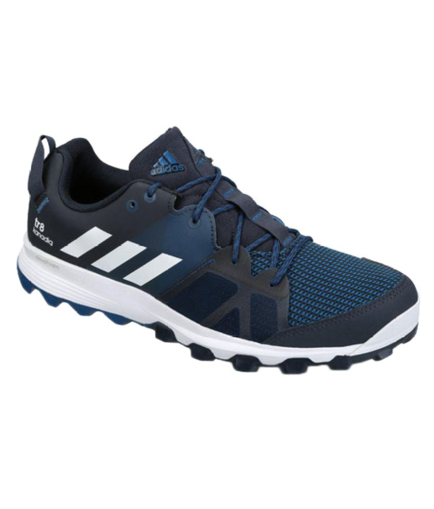3bf031b97ad4a Adidas KANADIA 8 TR M Blue Running Shoes - Buy Adidas KANADIA 8 TR M Blue  Running Shoes Online at Best Prices in India on Snapdeal