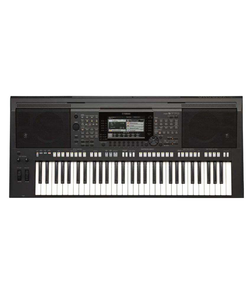 yamaha psr 770 keyboard 61 keys available at snapdeal for. Black Bedroom Furniture Sets. Home Design Ideas