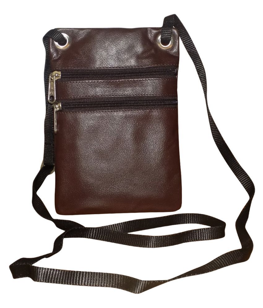 32d45ea259 Style 98 Stylish Brown Leather Casual Messenger Bag - Buy Style 98 ...