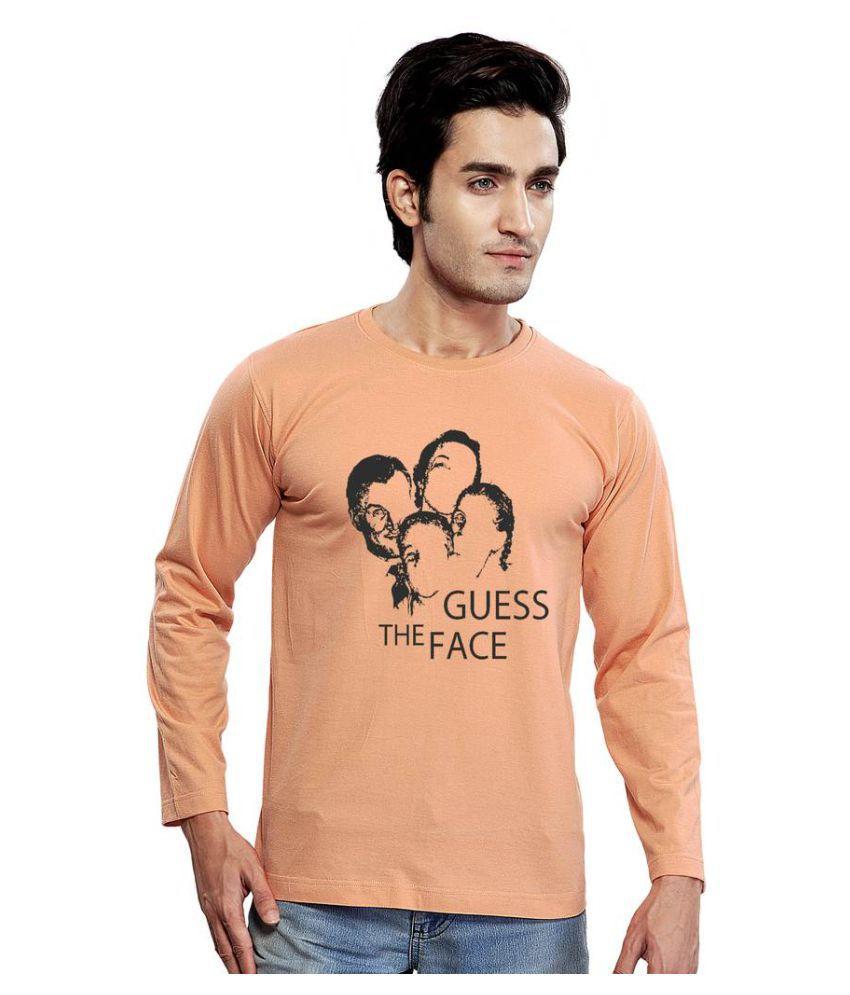 Clifton Peach Round T-Shirt