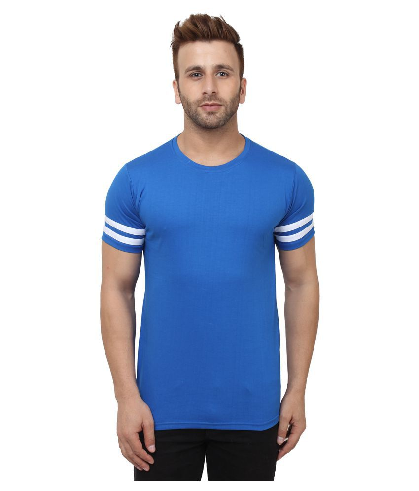 SayItLoud Blue Round T-Shirt