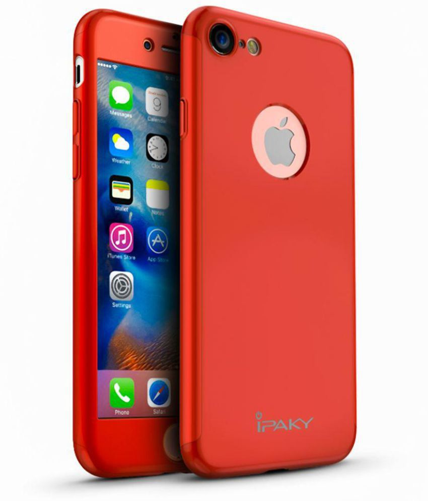 huge selection of 5a0de 03deb Apple iPhone 7 Cover by IPaky - Red