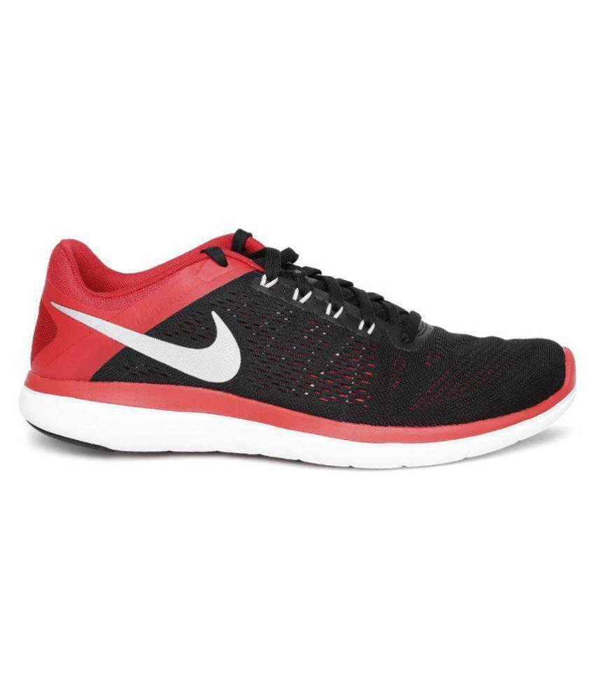 9fbe20a76f117 Nike FLEX 2016 RN Black Running Shoes - Buy Nike FLEX 2016 RN Black ...