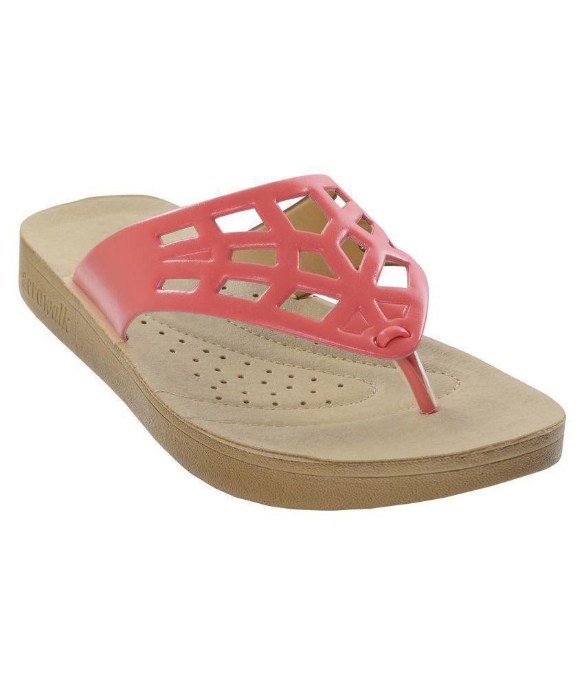 Aerowalk Red Slippers