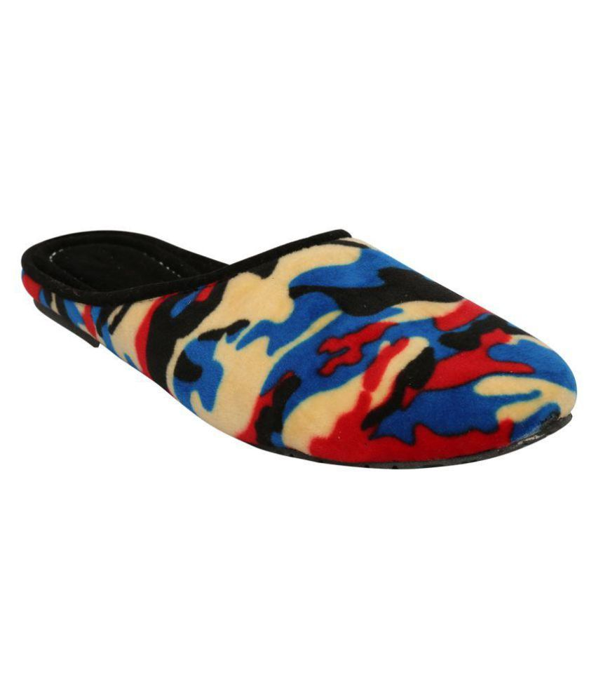 Myepitome Multi Color Slippers