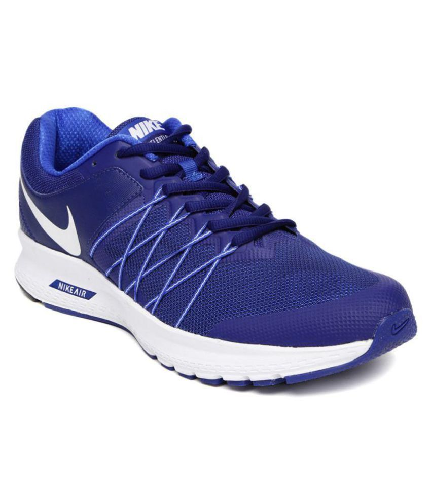 9190f94ca94 Nike AIR RELENTLESS 6 MSL Blue Running Shoes - Buy Nike AIR RELENTLESS 6  MSL Blue Running Shoes Online at Best Prices in India on Snapdeal