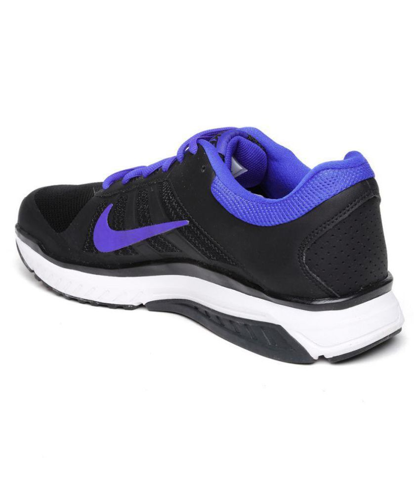 61e960e3d49e Nike DART 12 MSL Black Running Shoes - Buy Nike DART 12 MSL Black ...