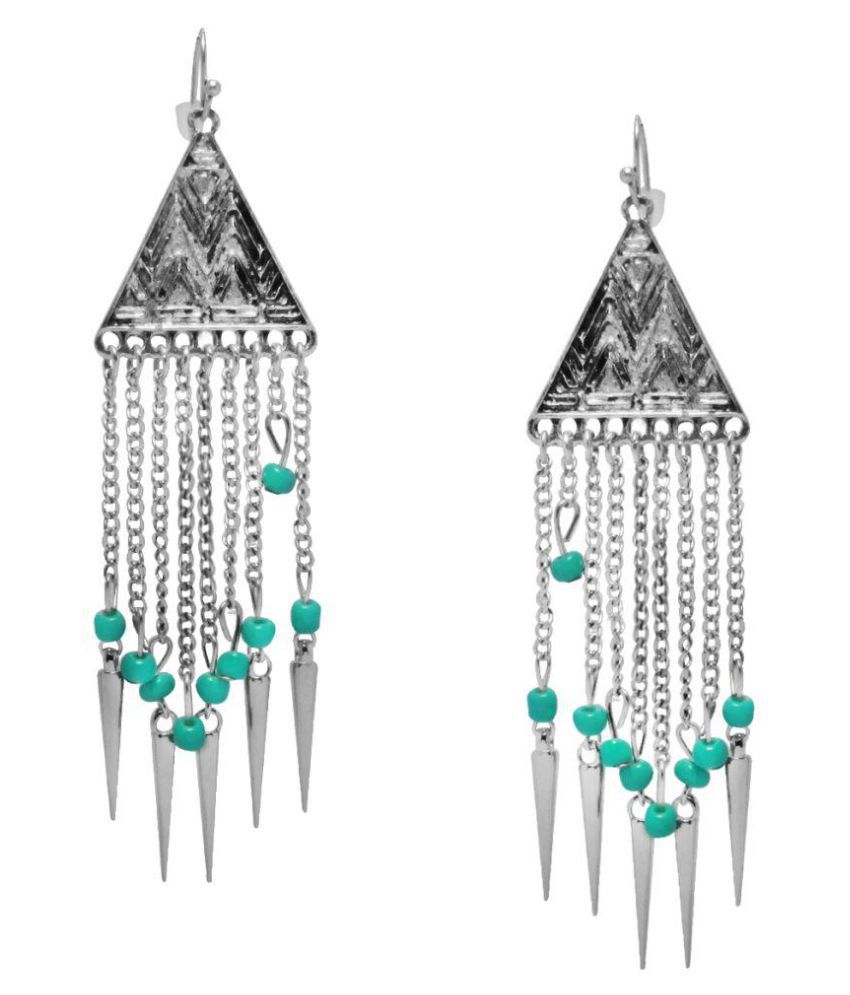 Jewelz Silver Alloy Earrings