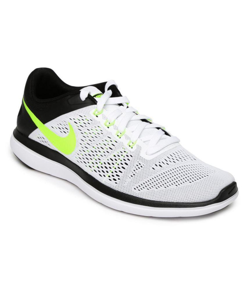 cheapest low price wholesale price Nike FLEX 2016 RN White Running Shoes