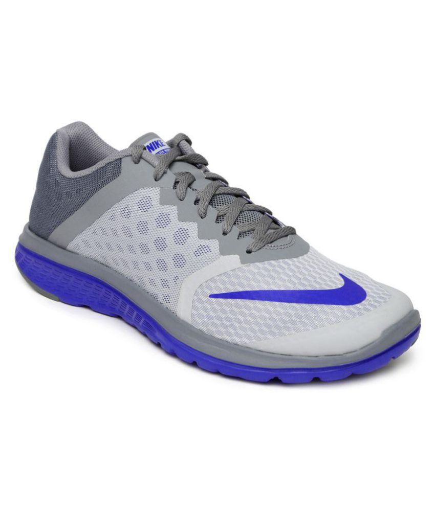 Nike NIKE FS LITE RUN 3 Gray Running Shoes ...