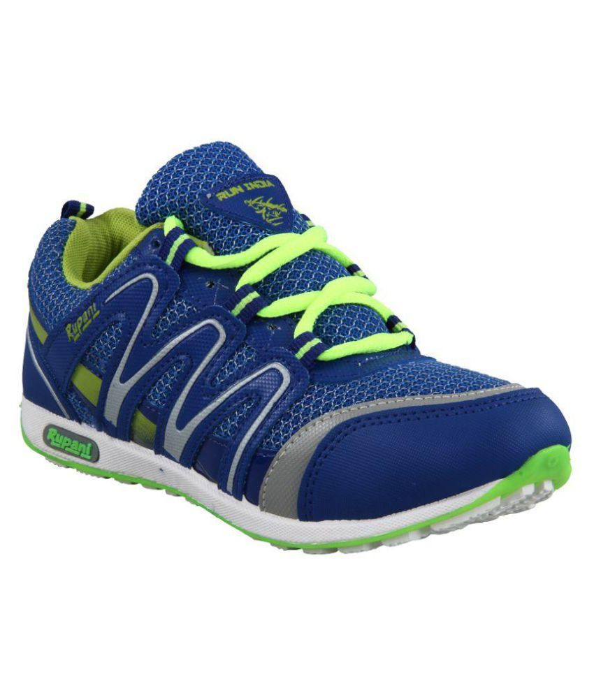 Rupani Blue Running Shoes