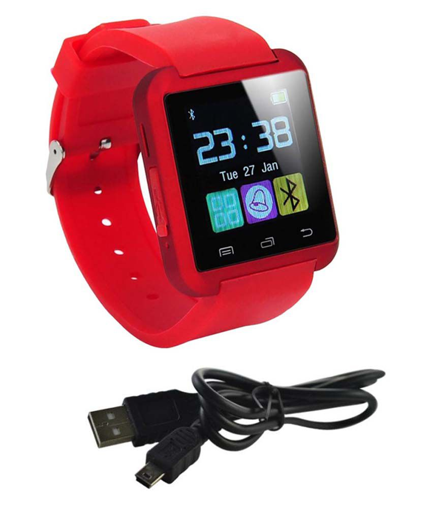AKIRA cookie smart Smart Watches Red
